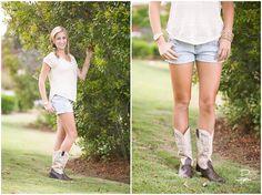 boots, braid, jean shorts
