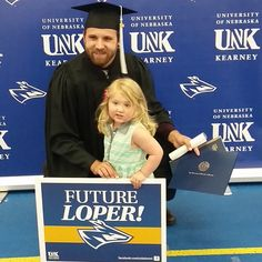 Future Loper! #lopergrad #unk #kearney #lopers Photo via Instagram user @daniellekluver University University, Class Management, Nebraska, Instagram Users, Insight