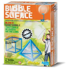 Roberson Museum and Science Center knows that Science is fun!  Bubble Science Kit.