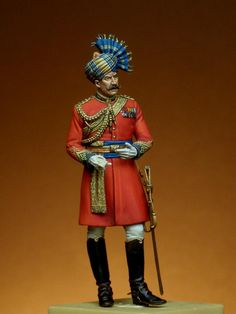 This photo was uploaded by Bengal Lancer, Indian Sword, Best Uniforms, Colonial India, Wessel, British Army Uniform, Indiana, Indian Art Paintings, Military Figures