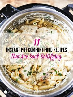 Learn how to make comfort foods you know and love in a one-pot wonder machine like the instant pot. These instant pot comfort food recipes . Instant Pot Pressure Cooker, Pressure Cooker Recipes, Pressure Cooking, Slow Cooker, Multi Cooker Recipes, Pressure Pot, Seared Salmon Recipes, Pan Seared Salmon, Chicken Parmesan Recipes