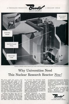 Your university needs a Nuclear Reactor.