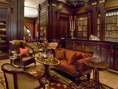 Lanesborough Library Bar, Knightsbridge. Of Buzzfeed's 16 Incredible Library Bars In London.
