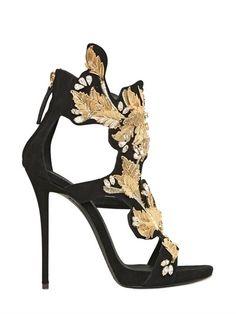 Verzierte Stilettos aus Wildleder von Giuseppe Zanotti auf shopstyle.de