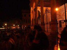 Padova -seara de sambătă în mijlocul verii