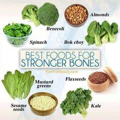 Foods for stronger bones.