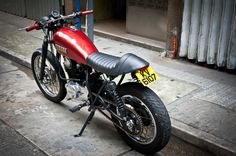 Honda FTR Tracker named Yakuza :: via Garage Project Motorcycles