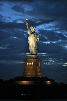 The Statute of Liberty, New York, City