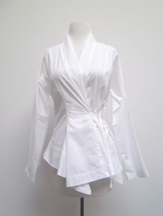 Ivan Grundahl kimono wrap shirt.