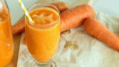 Carrot Orange Smoothie / عصير الجزر و البرتقال