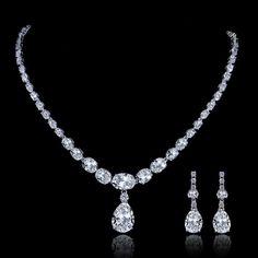 2014 Luxury Diamond Cut AAA Zorcon Bridal by Voguejewelry4u, $47.99