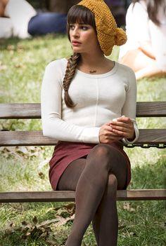 Lea Michele as Rachel Berry in GLEE. Love this outfit Zooey Deschanel, Rachel Berry Style, Taylor Swift, Glee Fashion, Hipster Fashion, Lea Michele, The Villain, Celebs, Celebrities