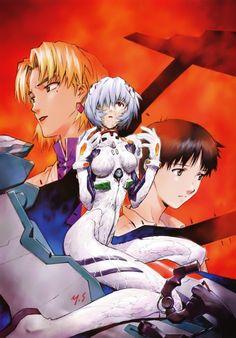 Yoshiyuki Sadamoto, Gainax, Neon Genesis Evangelion, Carmine, Ritsuko Akagi