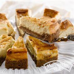Dulce de Leche Swirl Cheesecake from Martha White®