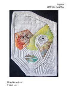 Art quilt by Susan Lane