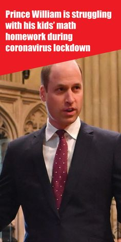 Prince William is struggling with his kids' math homework during coronavirus lockdown Kate Middleton News, Meghan Markle News, Royal Family News, Old Prince, Prince William And Catherine, Zoom Call, Math For Kids, Princess Charlotte, Queen Elizabeth Ii