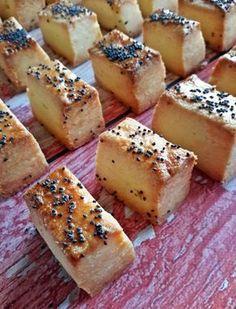 Retrománia: vágott sós, az örök sláger - Mom With Five Hungarian Desserts, Hungarian Recipes, Bread Recipes, Cookie Recipes, Salty Cake, Snacks, Bakery, Food Porn, Food And Drink