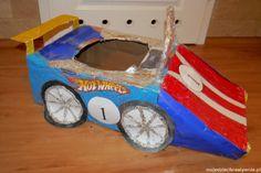 Moje Dzieci Kreatywnie: Hot Wheels car from cardboard. Brilliant!