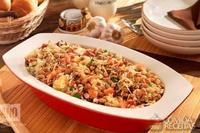 Bacon, Fried Rice, Carne, Fries, Ethnic Recipes, Food, Vegetable Stock, Savory Foods, Other Recipes