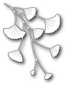 PoppyStamps - Die - Gingko Branch,$14.49