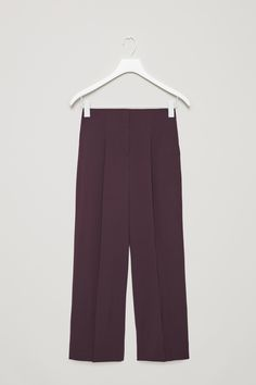 COS | Wide-leg trousers with press folds