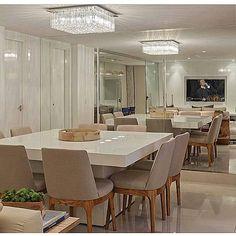 WEBSTA @ decoreseuestilo - Uma sala de jantar moderna e elegante... E como…