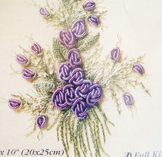 Brazilian embroidery sample.