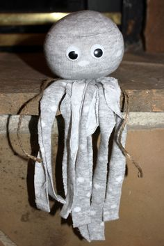 no sew socktopus- one good thing by Jillee