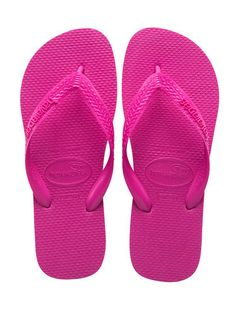 Hot Pink Havaianas (cute and comfy for the beach!) and 7 other hot pink items :) from Cosmo