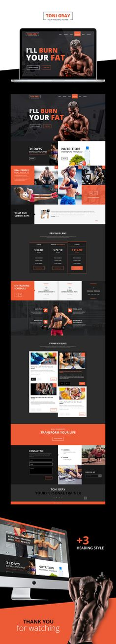 Personal Trainer on Behance