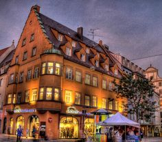 Augsburg, 2000-yr old city, 2nd oldest in Germany