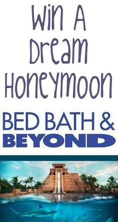 #Win a Honeymoon #Getaway from #BedBathBeyond