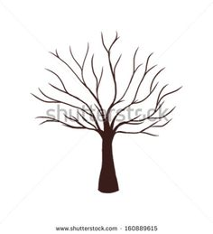 Find bare tree silhouette stock images in HD and millions of other royalty-free stock photos, illustrations and vectors in the Shutterstock collection. Thousands of new, high-quality pictures added every day. Tree Drawing Simple, Leaf Drawing, Simple Tree, Leaf Coloring Page, Easy Coloring Pages, Silhouette Clip Art, Tree Silhouette, Silhouette Images, Tree Illustration
