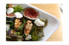 Foodista | Recipes, Cooking Tips, and Food News | Fig, Goat Cheese and Walnut Salad