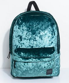 4f430df64a11 Vans Deanna Jade Green Velvet 22L Backpack