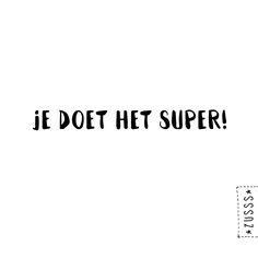 Zusss | je doet het super | www.zusss.nl