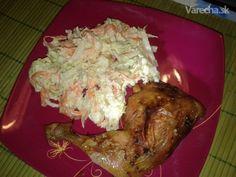Šalát s čínskou kapustou a kurčaťom - Recept