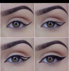 Step By Step Winged Eyeliner Tips