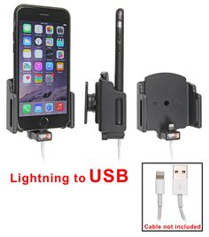 Apple #iPhone6 adjustable charging holder. Custom fit to fit the iPhone 6 in a thin case. #Mountsomething