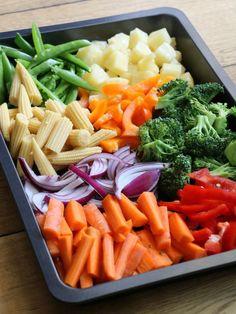 Wok, Celery, Carrots, Vegetables, Pineapple, Red Peppers, Carrot, Vegetable Recipes, Veggies