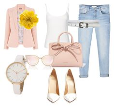 """""""Untitled #4"""" by tushiaass on Polyvore featuring MANGO, Mansur Gavriel, Francesco Russo and Gucci"""