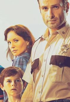 The Grimes Family | Rick, Lori, and Carl Grimes | The Walking Dead (AMC)