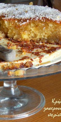 Greek Sweets, Greek Desserts, Greek Recipes, Desert Recipes, Just Desserts, Eggless Desserts, Vegan Desserts, Delicious Desserts, Vegan Recipes