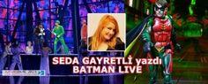 Batman Live 27 - 30 Eylül 2012 arasında Los Angeles'ta Staples Center'da gösterime girecek.