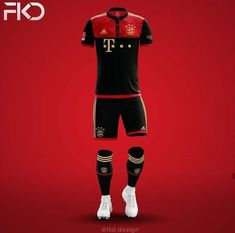 football jersey red