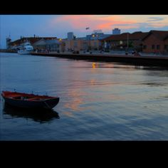 The Port of Thessaloniki, Greece