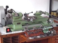 Sold: Schaublin 70 High Precision Lathe with Accessories Metal Lathe For Sale, Small Lathe, Machinist Tools, Industrial Machine, Lathe Tools, Milling Machine, Workshop, Cnc, Maker Shop