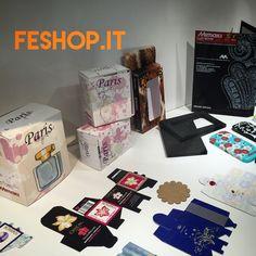Idee di packaging trovate a Viscom. Ma che potete trovare anche da noi. #feshop #packaging #scatole #personalizzate