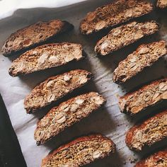 Almond Orange Biscotti via @feedfeed on https://thefeedfeed.com/thewatercolorpantry/almond-orange-biscotti