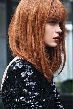 Frangia corposa. #frangia #hairstyles #haircut #shortthair